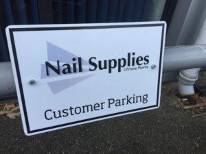 Customer Parking Sign Cornwall