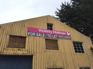 For Sale To Let Signage Cornwall
