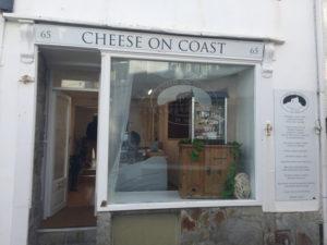 Cheese on Coast Shop Signage