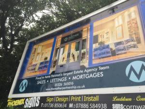 Mather Partnership Helston Billboard