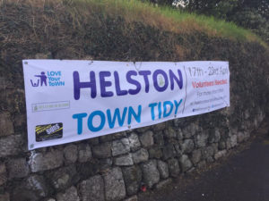 Helston Town Tidy Banner