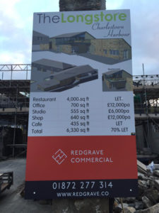 Redgrave Commercial Sign