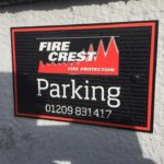 Signs for Customer Parking