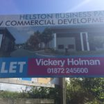 Signs at Helston Business Park