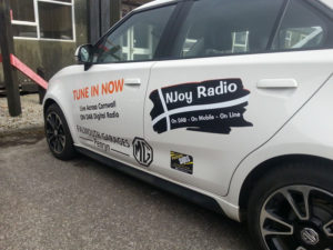 Njoy Radio Vehicle Graphic
