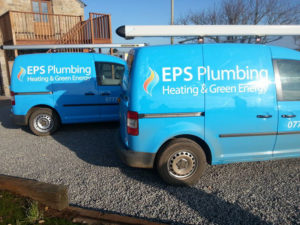 EPS Plumbing Vehicle Graphic