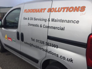 Flockhart Solutions Vehicle Graphic