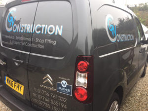 Van Vehicle Graphic