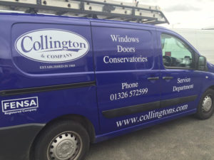 Collington & Company Vehicle Graphic