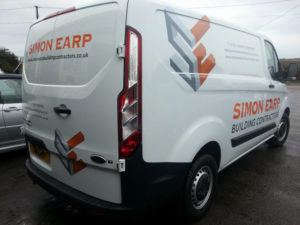 Simon Earp Cornwall Vehicle Graphic