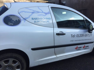 Earthsound Electrical Vehicle Graphic