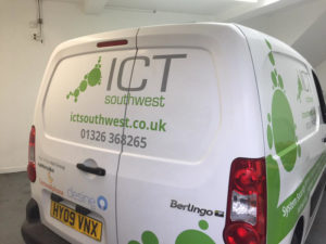 ICT Southwest Cornwall Vehicle Graphic