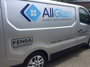 AllGlass Vehicle Graphic