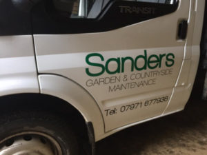 Sanders Helston Cornwall Vehicle Graphic