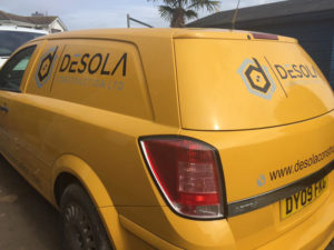 Desola Cornwall Vehicle Graphic