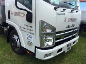 Underground Solutions Ltd Vehicle Graphic