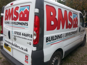 BMS Cornwall Vehicle Graphic