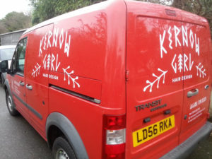 Kernow Girl Vehicle Graphic