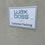Waxboss UK Customer Parking